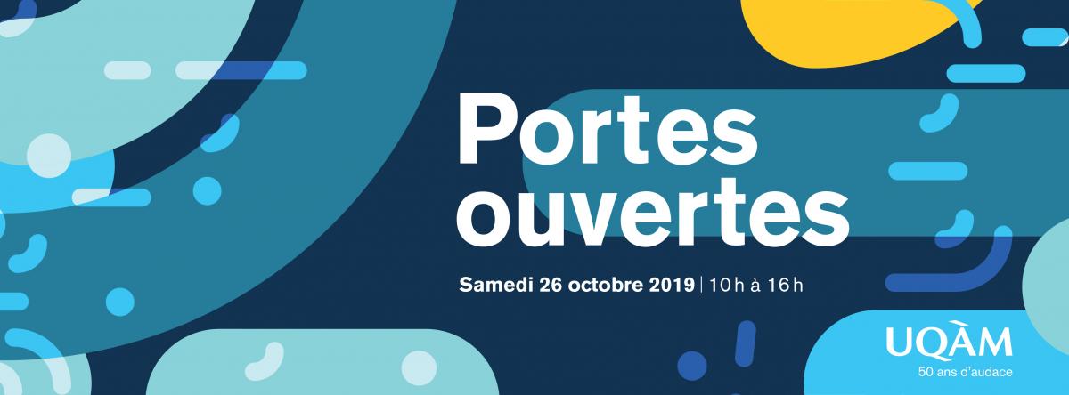Porte ouvertes - Samedi 26 octobre 2019 de 10h à 16h